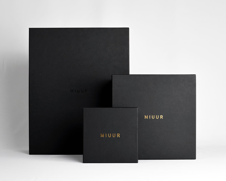 MIUUR Signature Packaging