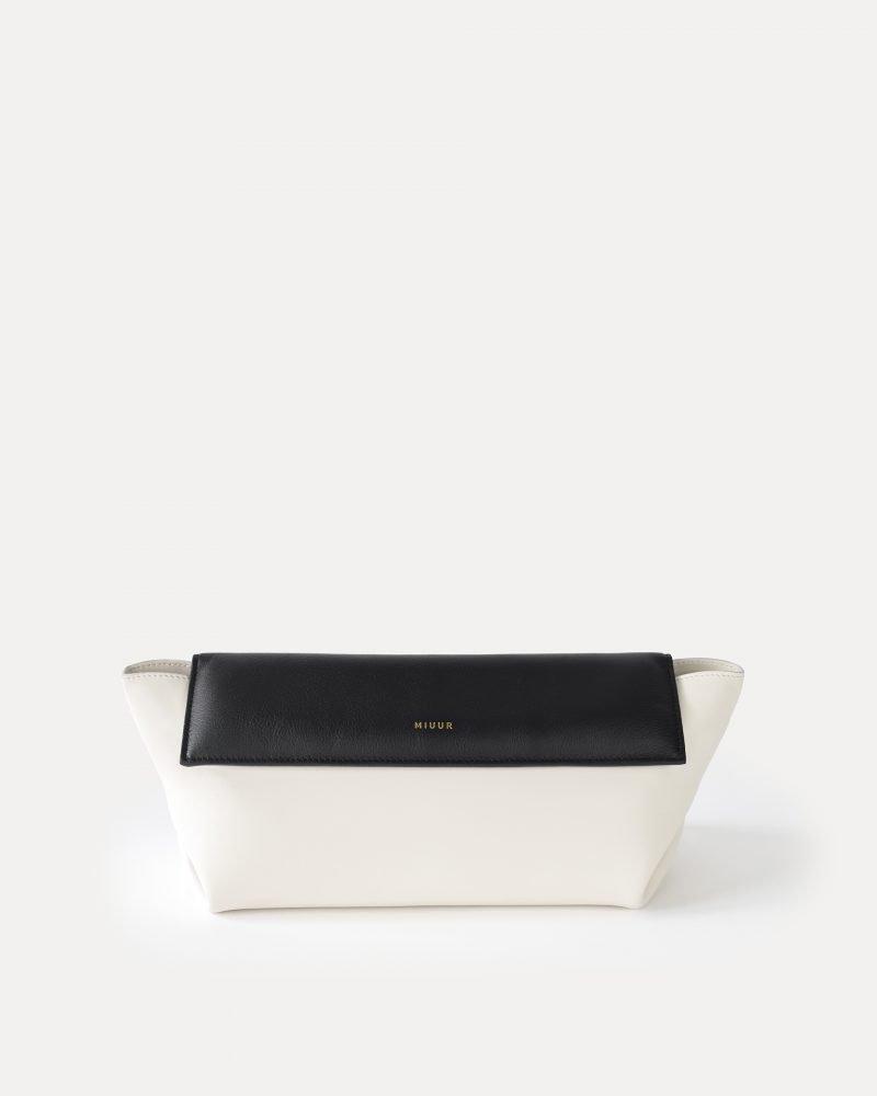 MIUUR GINZA CLUTCH SHOULDER BAG DUO WHITE