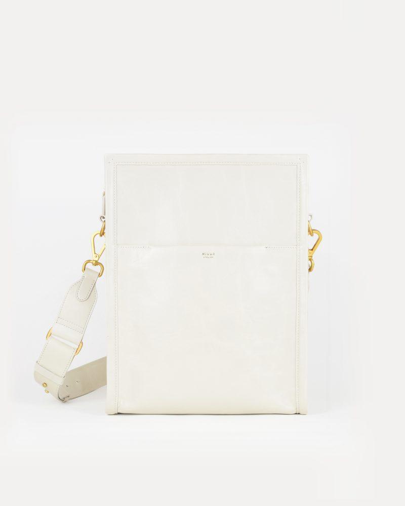 miuur amura tote bag off-white