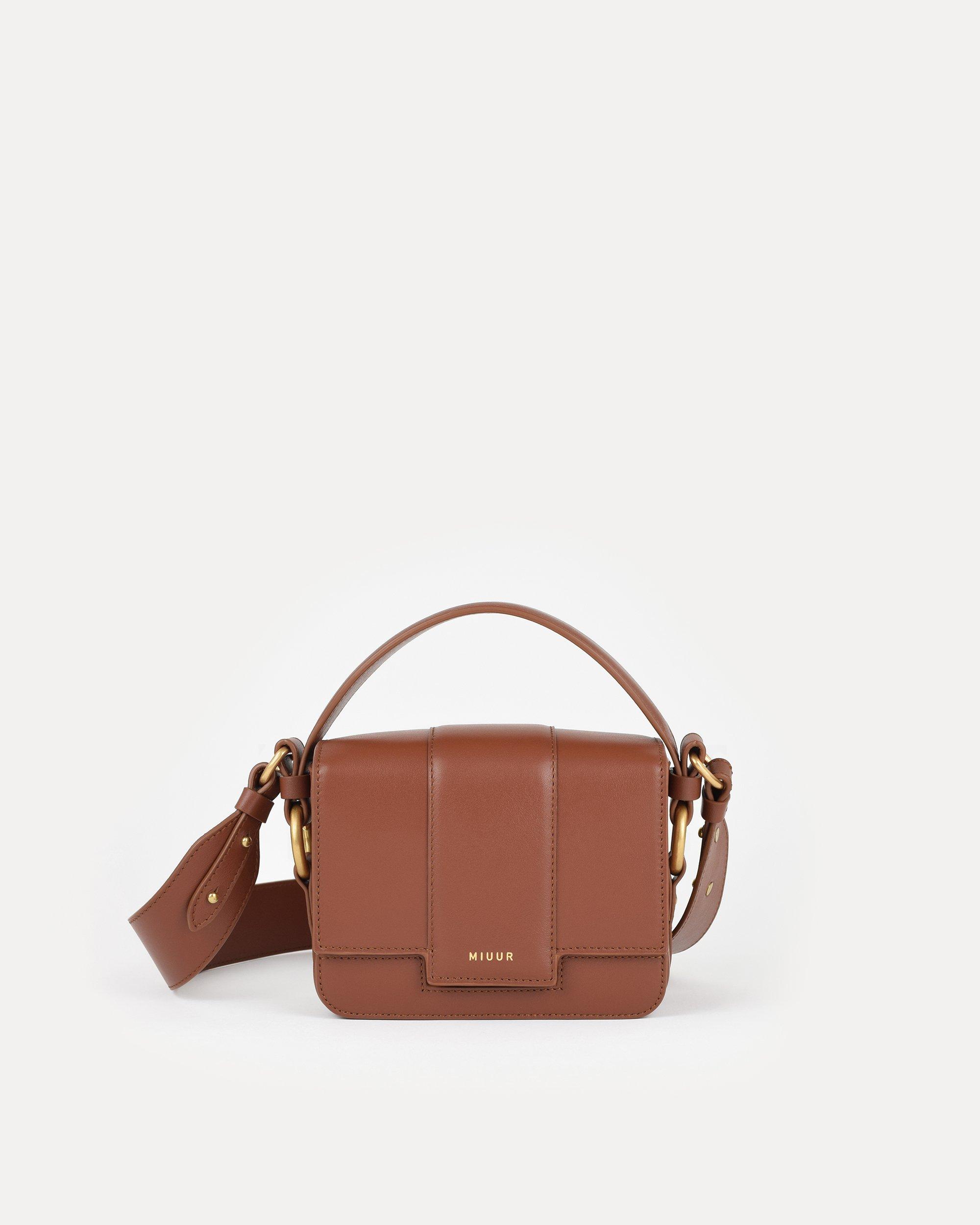 miuur m handbag havana brown