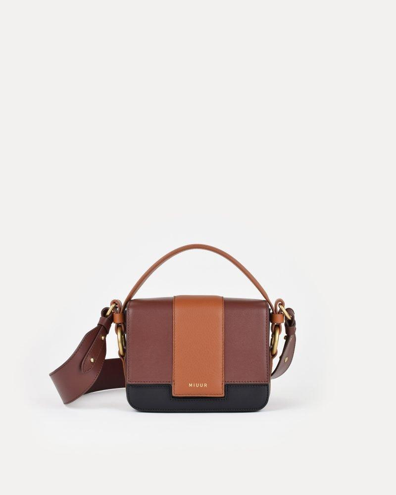 miuur m handbag trio mocha brown
