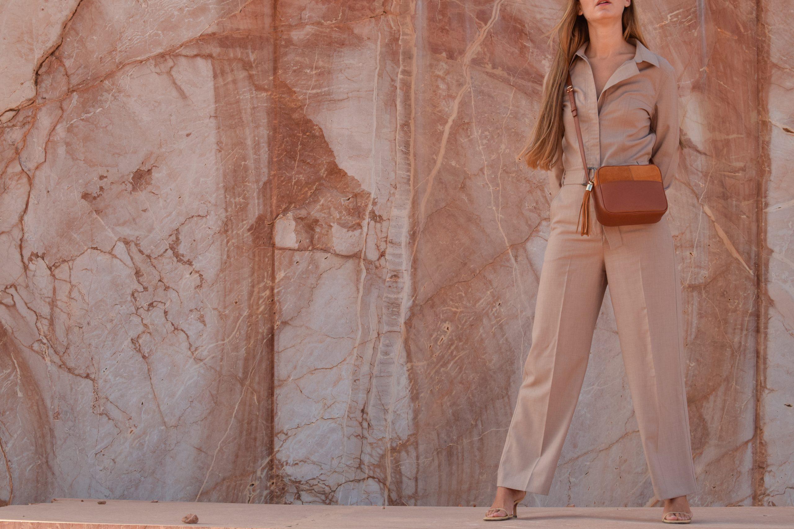 miuur lookbook 011 lua havana brown leather bag