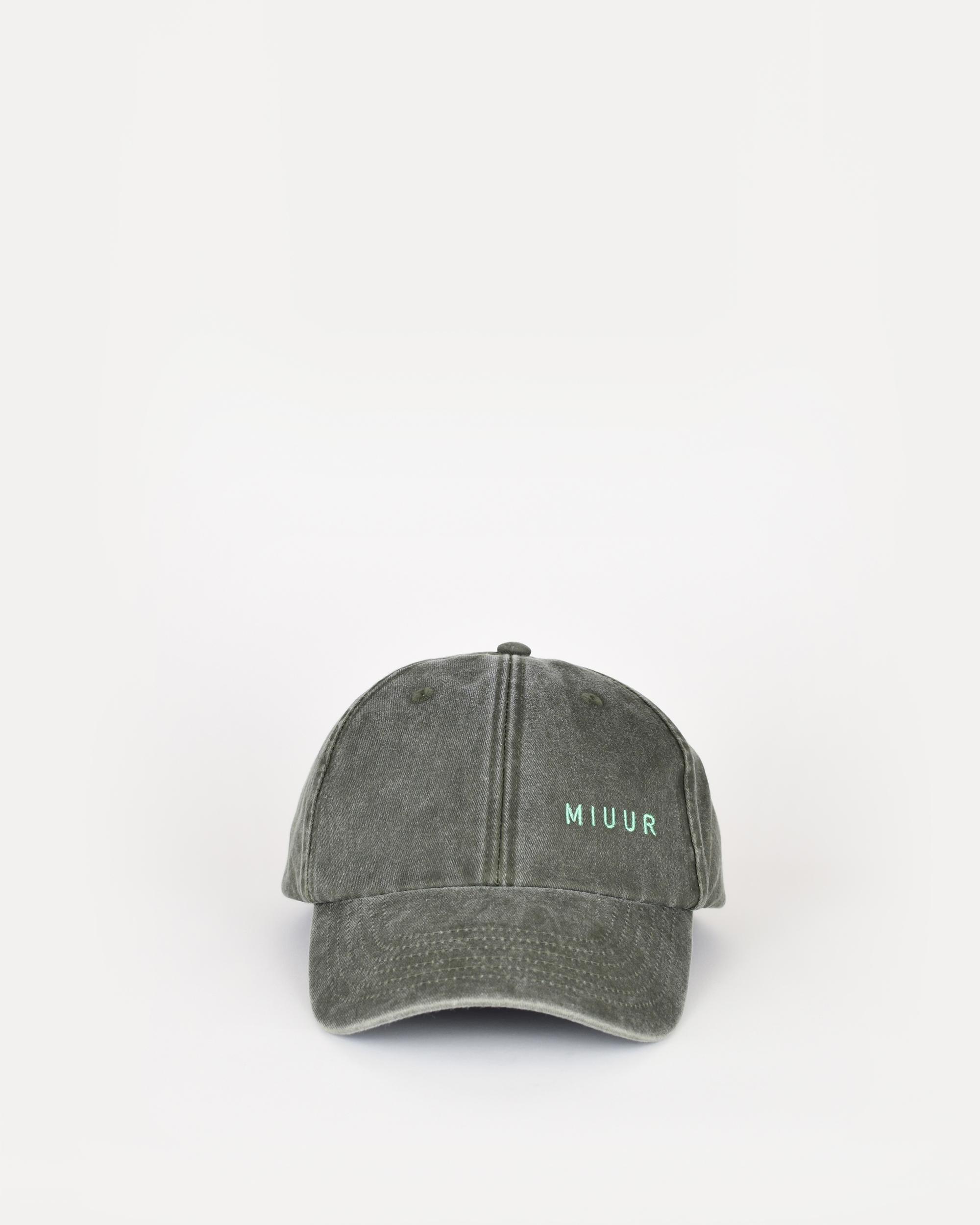 miuur cap green front