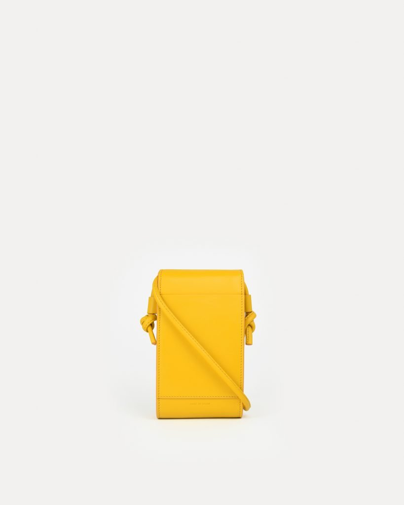 miuur paquito yellow minibag pouch